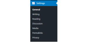 How to install and configure WordPress Settings – w3ict