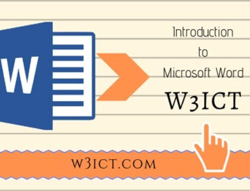 What is MS Word and Its 7 Important Features | w3ict