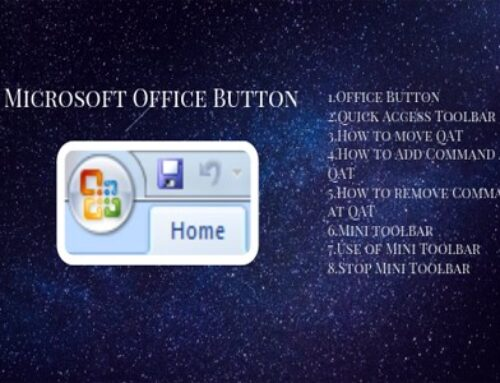 What is Microsoft office button